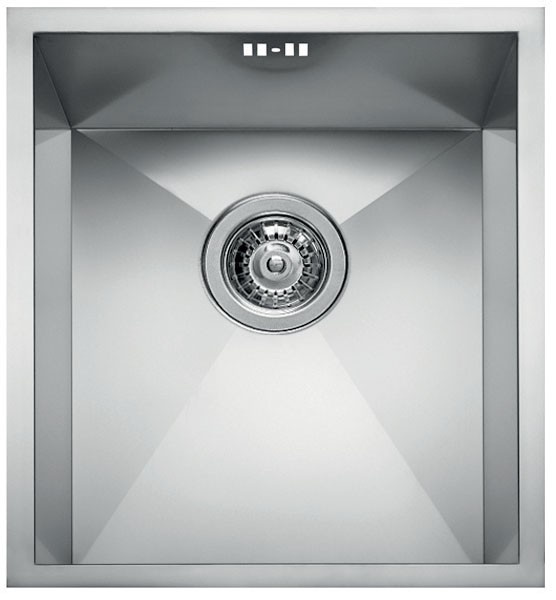 Square 340 Undermount Stainless steel LIQ340SACUN